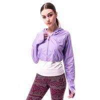 【hilltop山頂鳥】女款吸濕排汗抗UV超輕量外套S02FA7-紫