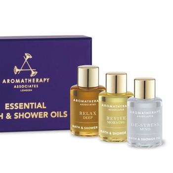 AA 舒緩‧舒爽‧明煥 旅行套裝 (Aromatherapy Associates)