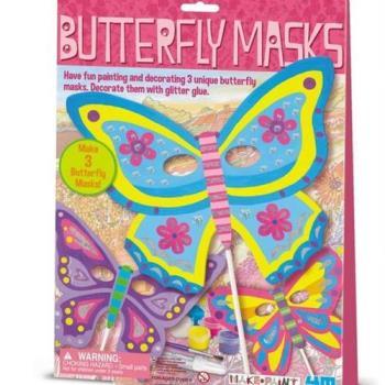 【4M】美勞創作系列 - 彩繪蝴蝶面具 00-03824