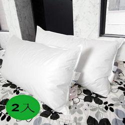 【凱蕾絲帝】台灣製造專櫃級100%純天然超澎柔羽絨枕1.4kg (2入)