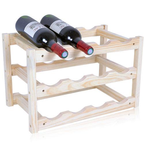 《WSH》酒窖原木紅酒架