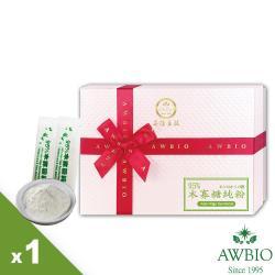 【美陸生技】95%木寡糖純粉 幫助消化 健康維持 調節生理機能盒裝(60條/盒)AWBIO