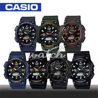 【CASIO 卡西歐】太陽能時尚雙顯液晶腕錶(AQ-S810W )