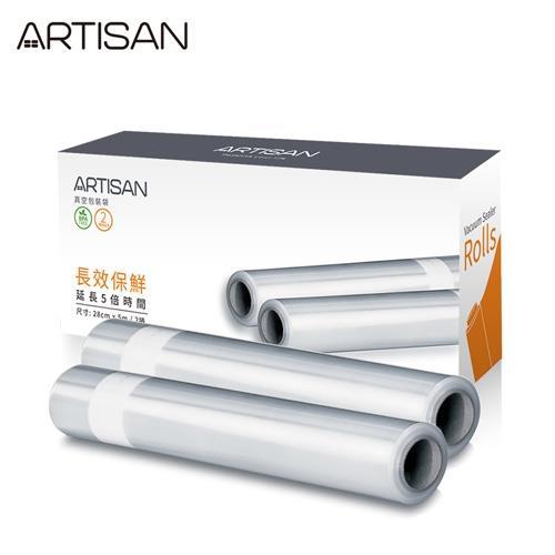 ARTISAN條紋真空包裝袋VBR2805(1盒/2卷)(1卷500公分)/