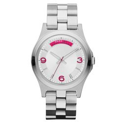 Marc Jacobs 時尚青春魅力腕錶 銀 40mm MBM3161