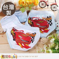 魔法Baby 男童內褲(四件一組) 台灣製閃電麥坤正版純棉三角內褲~k50435