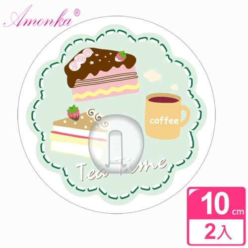AMONKA 3R神奇無痕掛勾(圓單勾)(點心時刻蛋糕)2入