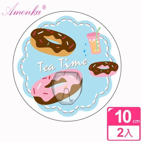 AMONKA 3R神奇無痕掛勾(圓單勾-甜甜圈)2入