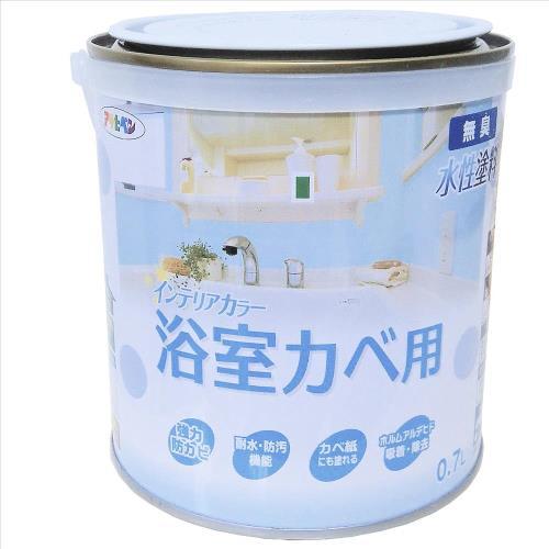日本Asahipen水性高濕氣住屋機能塗料0.7L-霧粉