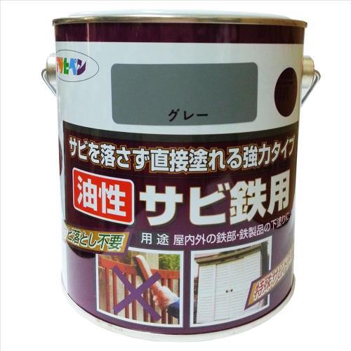日本製鏽鐵打底強力止鏽底漆鼠灰0.7L/