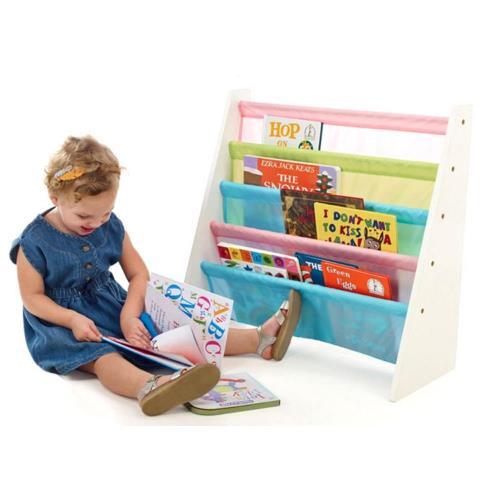 孩子國 兒童書報收納架 夢幻甜美款 #5948P