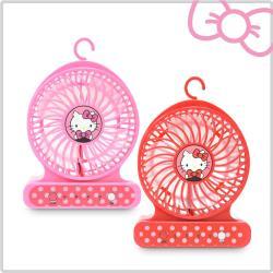 【超值二入組】Hello Kitty隨身強力小風扇 KT-FN01