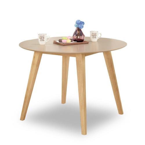 【時尚屋】[C7]珍妮芙圓桌C7-964-1免組裝/免運費/餐桌