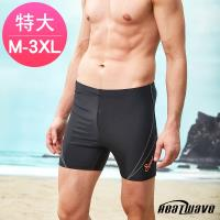 Heatwave熱浪 加大男泳褲 五分褲-亞士紳357