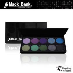 【Mack Bank】M05-06D 亮沙 時尚造型 眼影 腮紅 眼影盤 眼影盒 彩盤組(1組共10色) (形向Xingxiang眼彩)