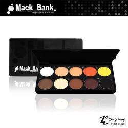 【Mack Bank】M05-06A專業眼影 腮紅 眼影盤 眼影盒 彩盤組(10色/組) (形向Xingxiang美容乙丙級 眼彩)