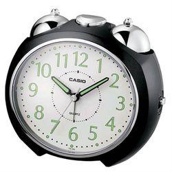 【CASIO】圓弧流線造型鬧鐘-黑 (TQ-369-1)