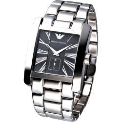 ARMANI 現代爵士鋼帶男腕錶