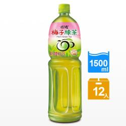 古道 梅子綠茶1500ml x12瓶