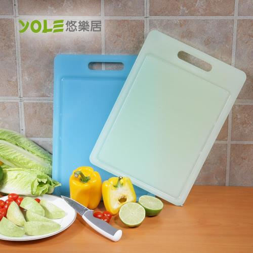 YOLE悠樂居-抗菌防霉水晶砧板(中)#1130021