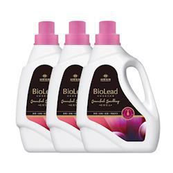 台塑生醫 BioLead經典香氛洗衣精 紅粉佳人2kg(3瓶入)