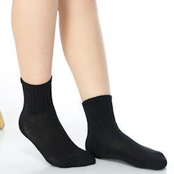 【KEROPPA】7~12歲學童專用毛巾底氣墊短襪x4雙(男女適用)C93002
