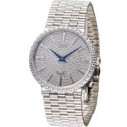 愛其華 Ogival 滿天星晶鑽石英男錶 377MW