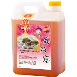 客錸 優選台灣荔枝蜂蜜3000g