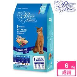 LCB藍帶廚坊 L.I.D.挑嘴貓糧 活力貓 6KG 海鮮配方