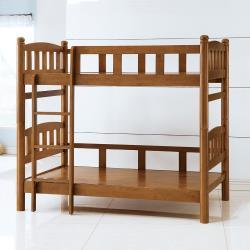 Boden-圓柱3.5尺全實木雙層床架