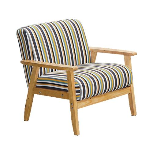 Boden-布里德實木沙發單人椅/單人座