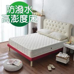 Ally愛麗-經典高蓬度抗菌防潑水獨立筒床墊-單人3.5尺-防潑水抗菌