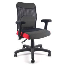 DR. AIR 人體工學氣墊辦公網椅(辦公椅、電腦椅)-黑
