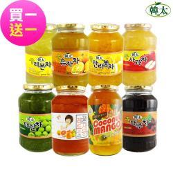 韓太 買一送一韓國黃金蜂蜜茶系列1kg