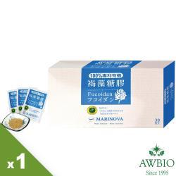 【美陸生技】慈心認證澳洲有機褐藻糖膠 盒裝(30包/盒)AWBIO