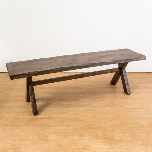 Boden-奧斯曼仿舊風格實木長凳/椅凳