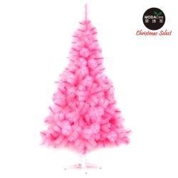【摩達客】台灣製15尺/15呎(450cm)特級粉紅色松針葉聖誕樹裸樹 (不含飾品)(不含燈)