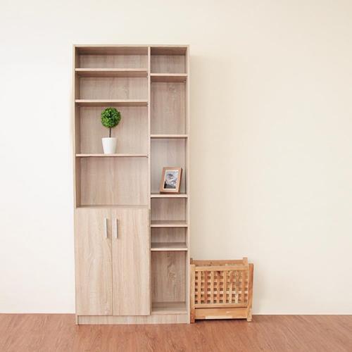 《HOPMA》都會二門六格書櫃/書櫃/收納櫃