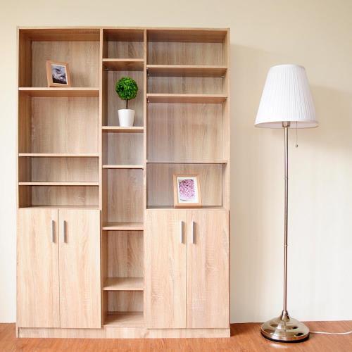 《HOPMA》都會四門六格書櫃/收納櫃
