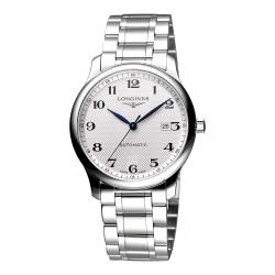 LONGINES Master 巨擘系列機械腕錶-銀 42mm L28934786