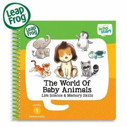 美國【LeapFrog 跳跳蛙】LeapStart 全英行動學習書籍 幼兒9-寶貝動物世界