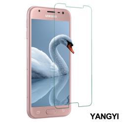 YANGYI 揚邑-Samsung Galaxy J3 Pro 5吋 鋼化玻璃膜9H防爆抗刮防眩保護貼