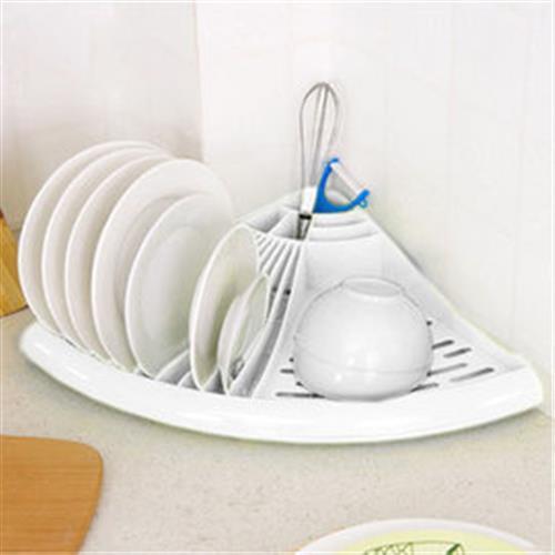 【inBOUND】三角碗盤收納架/餐具杯具瀝水收納架