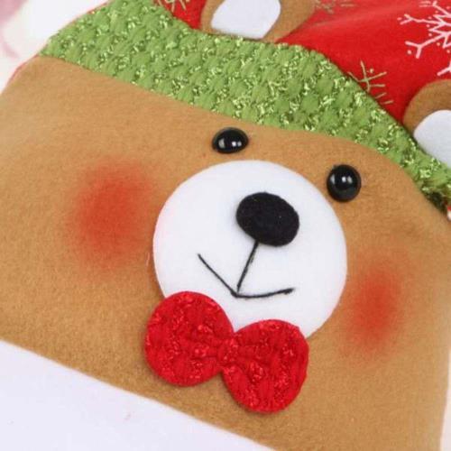 【摩達客】耶誕派對-可愛熊聖誕帽
