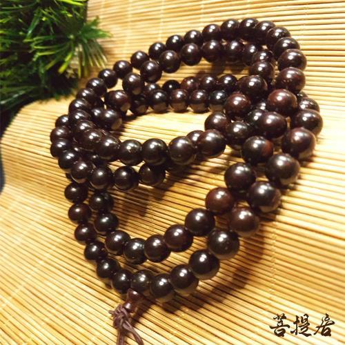 菩提居-沉水紫檀108唸珠