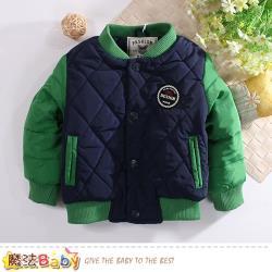 魔法Baby 兒童外套 秋冬厚鋪棉超保暖外套~k60587