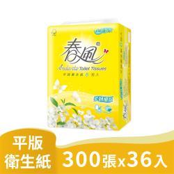 春風平版衛生紙-柔韌細緻(300張*6包*6串)