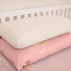 【奶油獅】正版授權-成人專用~馬來西亞進口100%純天然麵包造型乳膠枕-粉紅