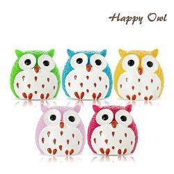 Happy owl 快樂貓頭鷹護唇膏3入