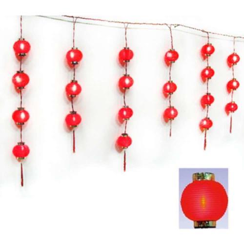 【摩達客】農曆春節特選◎35燈冰條宮燈/小燈籠串燈